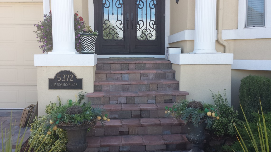 Paver Entries and Walkways Denver CO