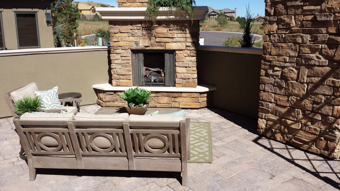 Outdoor Fireplace Denver CO