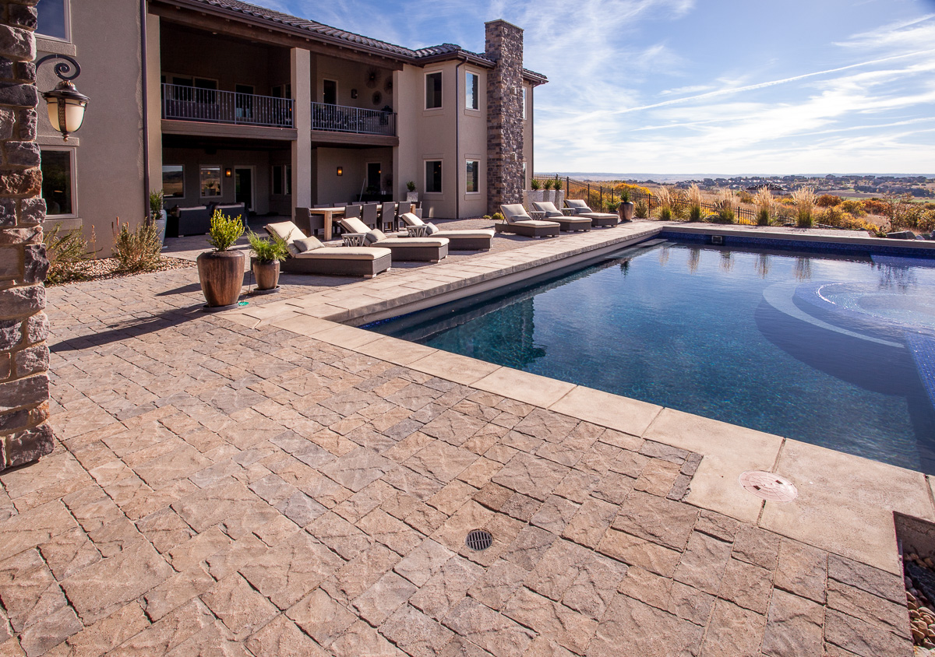 Paver Pool Deck Denver CO