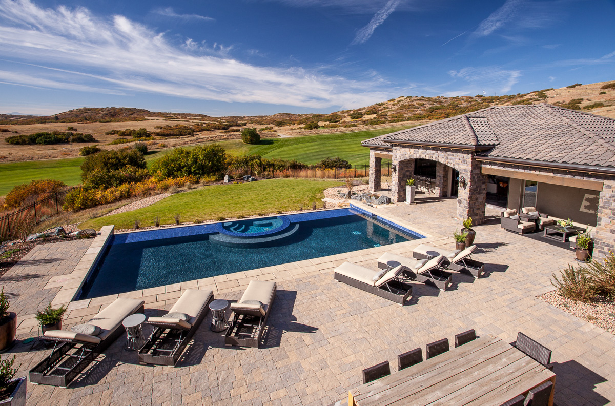 Paver Pool Deck Denver CO