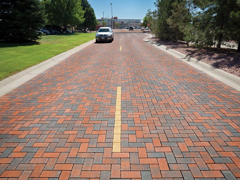 Commercial pavers Denver