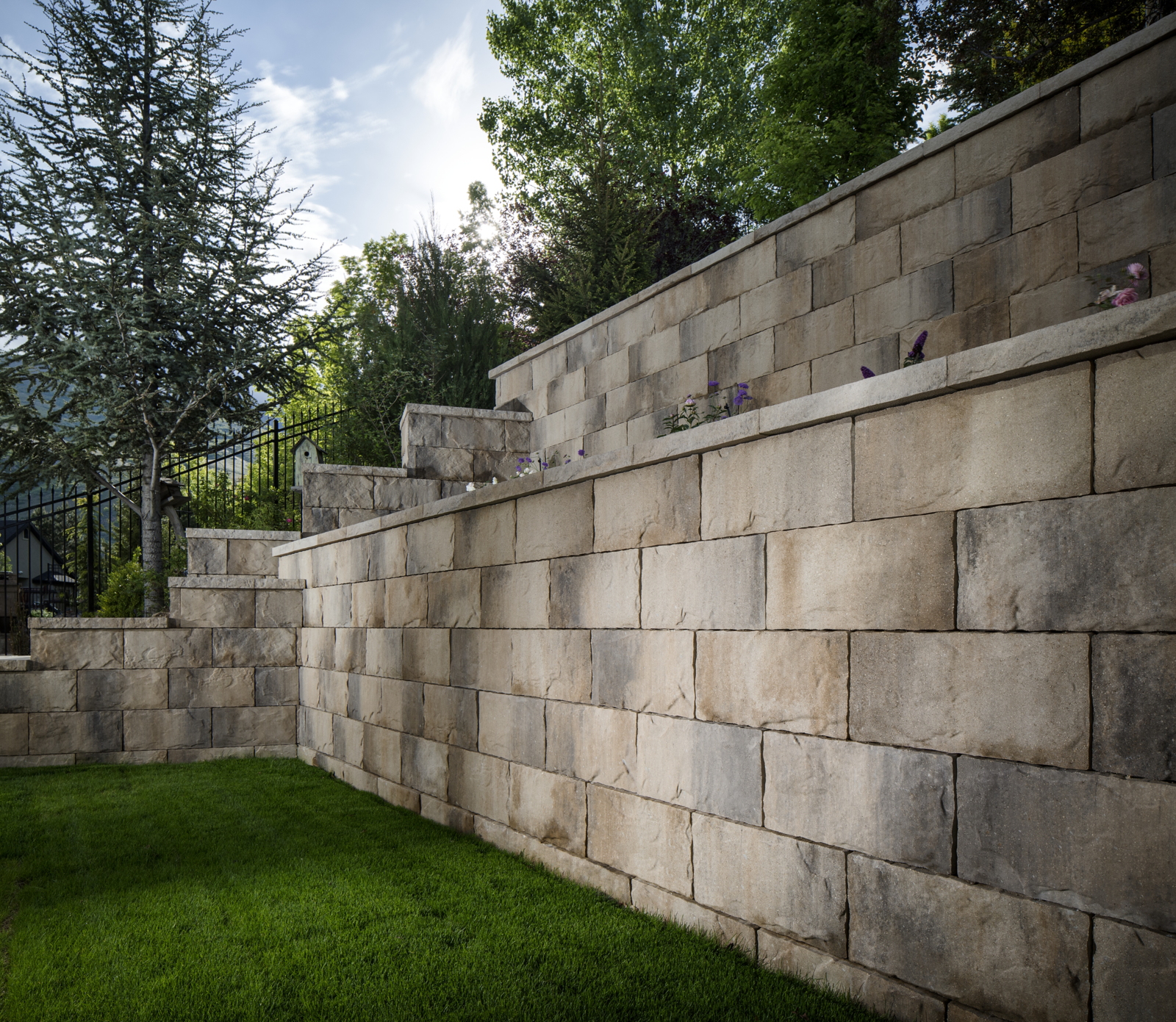 Commercial retaining walls Denver CO