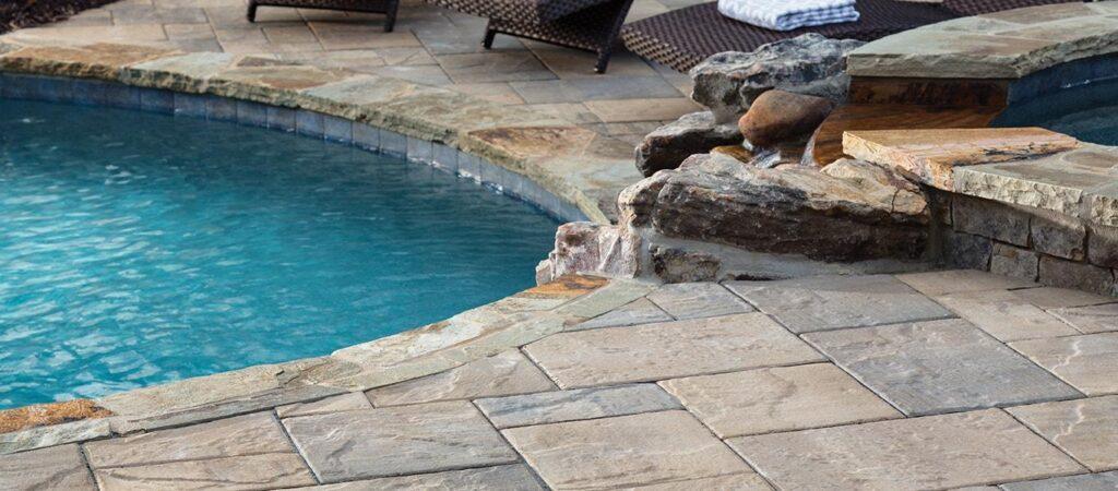 Paver Pool Decks Denver CO | Stone Creek Hardscapes & Designs