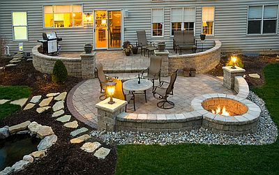 Outdoor Fire Pit and Patio Denver CO - Outdoor Fire Pits Denver By Stone Creek Hardscape's