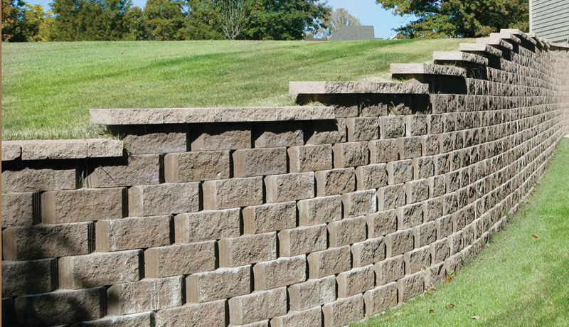 Retaining Walls Stone Creek Hardscapes Amp Designs
